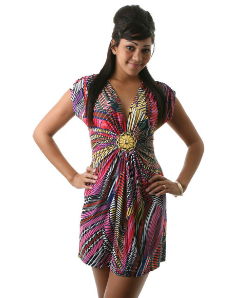 babyphat medallion dress