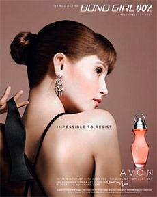 Gemma Arterton New Face of \'Bond 007\' Fragrance