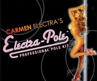 carmen electra stripper poles