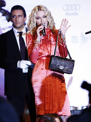 madonna auctioned chanel bag
