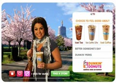 Rachel Ray Controversial Dunkin Donuts Ad