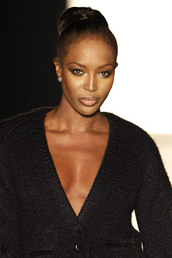 Naomi Campbell YSL Endorsement