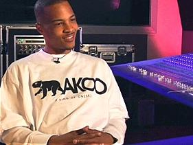 rapper TI grinding his own celebrity clothing line AKOO
