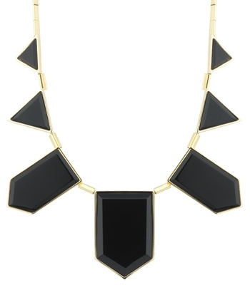 house-of-harlow-1960-black-resin-triangle-necklace