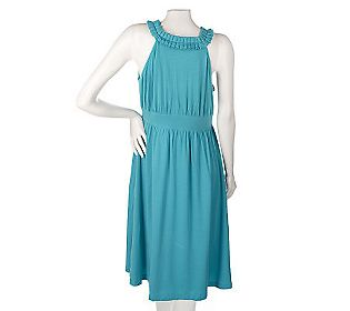 elisabeth-hasselbeck-dialogue-pleated-knit-dress1