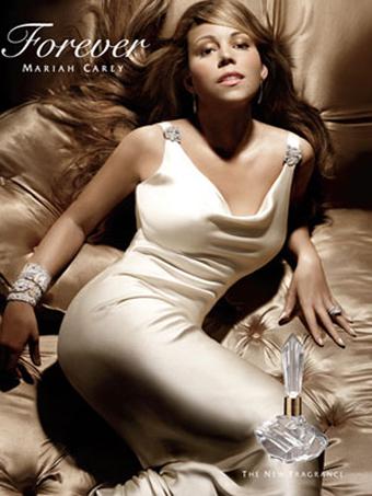 Mariah Carey Forever Perfume Ad